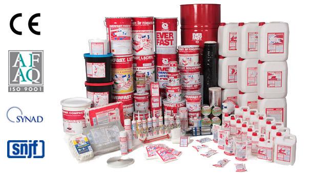 EVERFAST Waterproofing - Our range